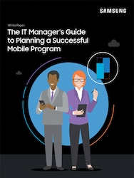 The IT Manager's Guide to Planning a Successful Mobile Program