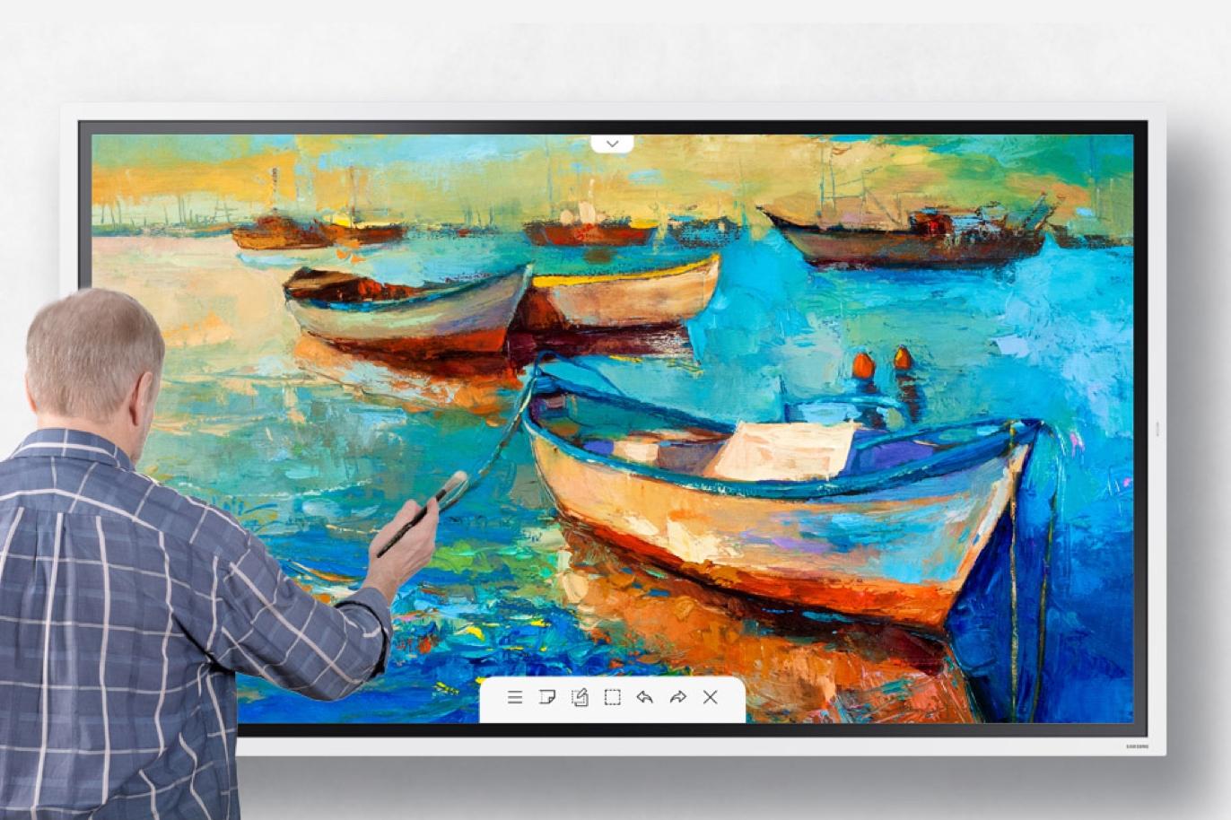 Samsung Flip 2—全新數位屏幕 - FLIP 65 Page6 Creating a masterpiece 6 1 THREE COLUMN