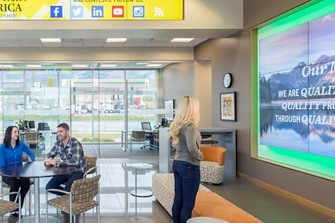 Samsung Digital Signage Displays Transform Branch Banking Experience