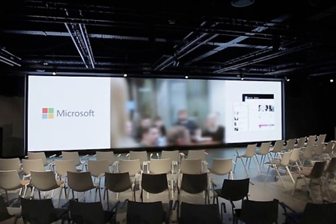 Samsung LED Digital Signage Empowers Microsoft to Achieve More