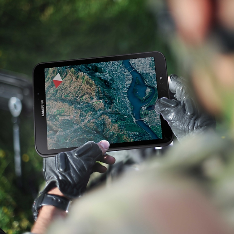 TAA-compliant Galaxy Tablets with tactical apps