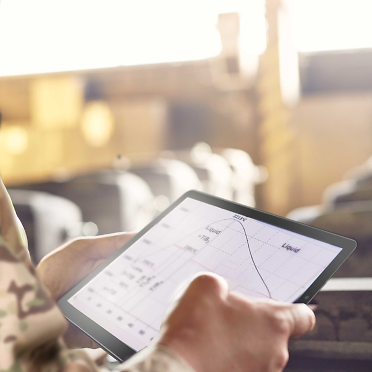 supply chain management with TAA-compliant Galaxy Tablets