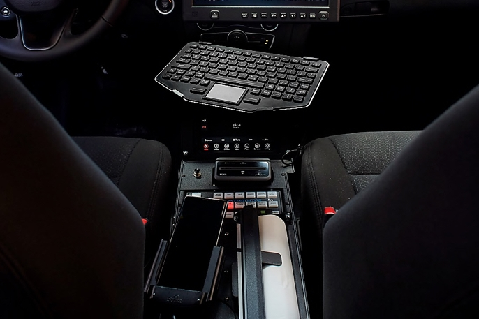 Samsung dex in-vehicle computer with Note9