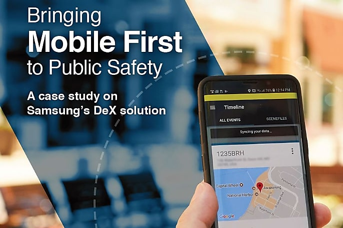 Bringing mobile first to public safety