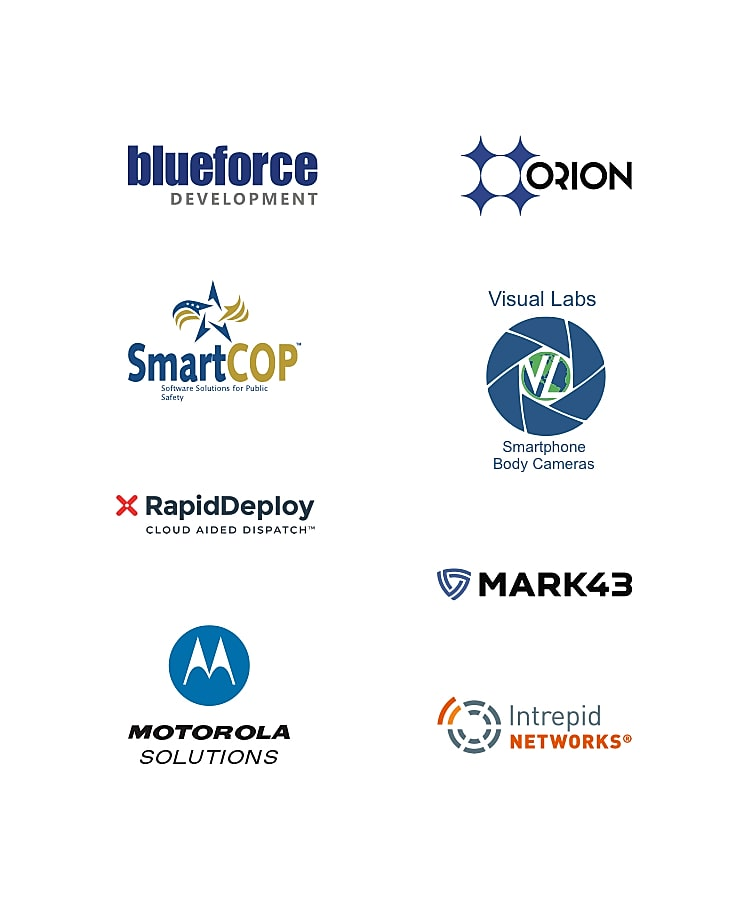 Featured public safety software partners