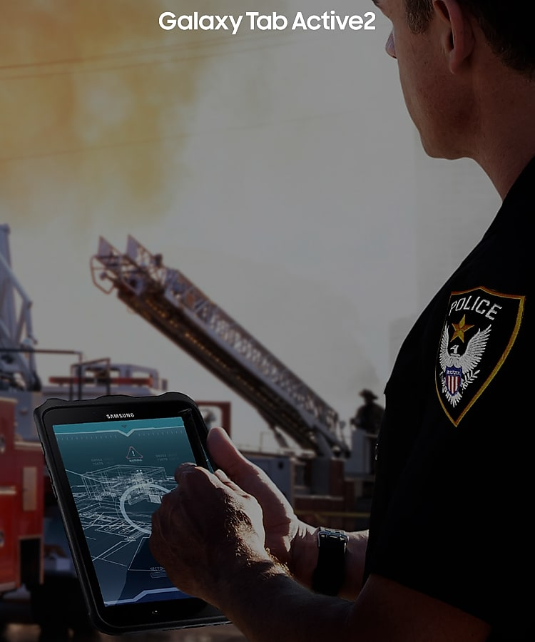 Galaxy Tab Active2 for public safety