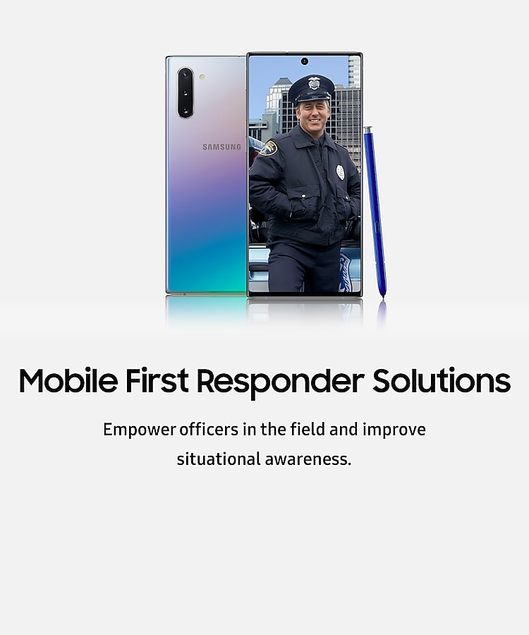 mobile first responder solutions