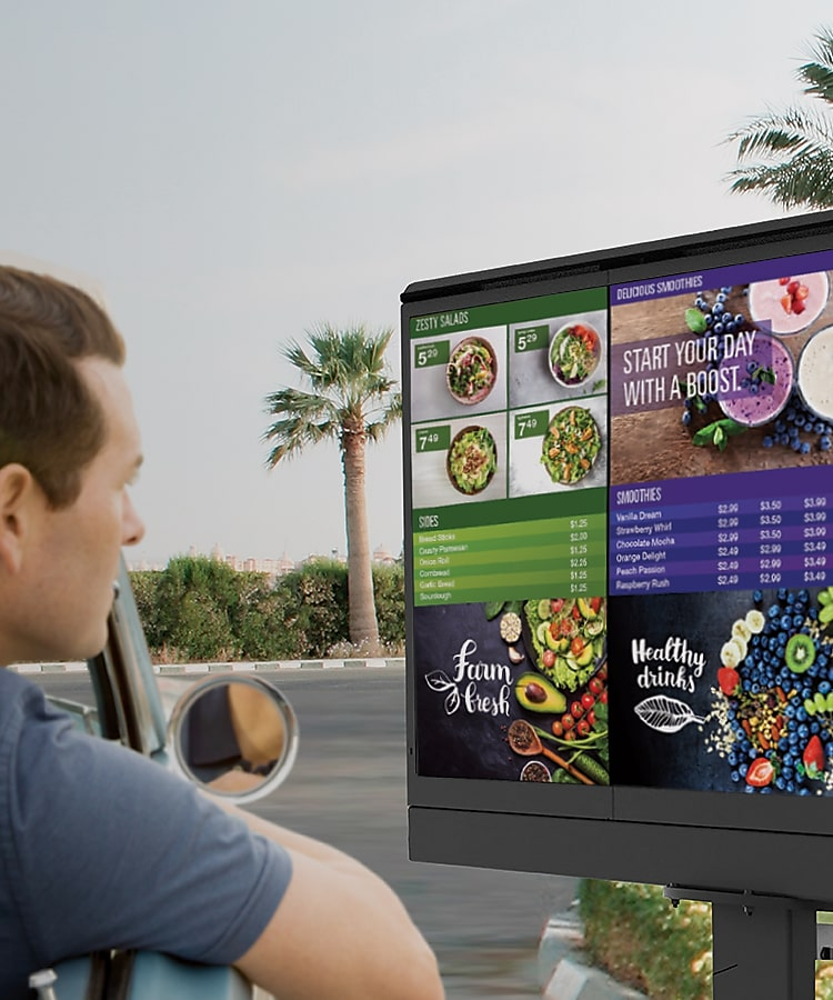 outdoor digital signage solutions