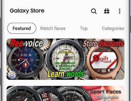 samsung gear apps wont install