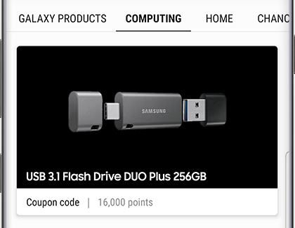 Redeem Reward Points for a USB Flash Drive DUO Plus 256GB