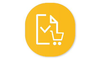Shopping List icon on Family Hub app