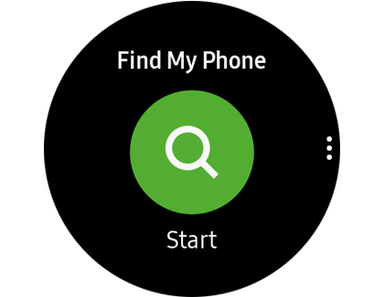 Find My Phone app on Galaxy Watch Active