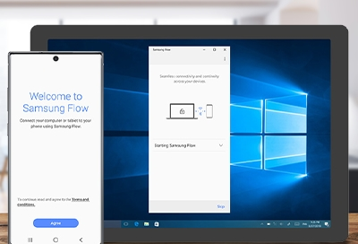 Sharing Note 10 screen to a tablet with Samsung Flow using Smart View