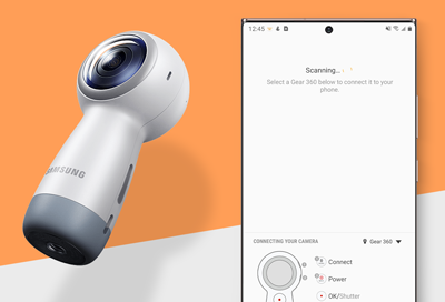 Gear 360 unable to connect to a phone