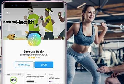Download the Samsung Health App