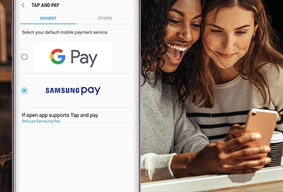 Make Samsung Pay Your Default Payment Service