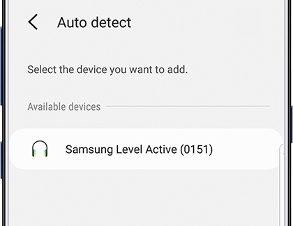 Auto detect a device in SmartThings; Samsung Level Active (0151)