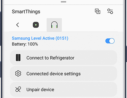 SmartThings Panel with Connected Bluetooth Device