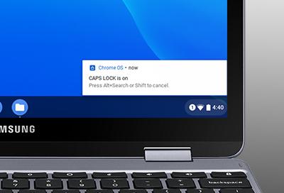Caps Lock on Your Chromebook