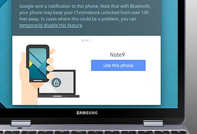 Smart Lock for Chromebook