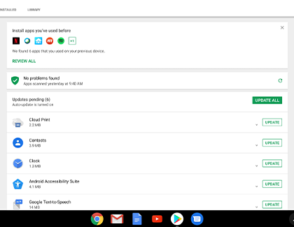 Apps on Your Chromebook