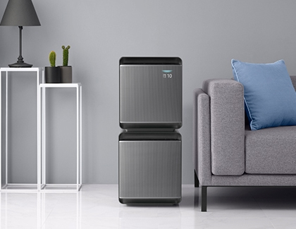 2 Air Purifiers on top of each other