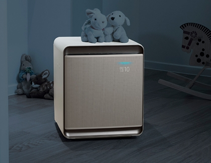 Air Purifier in bedroom