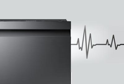 A Samsung dishwasher making noise