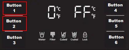 Refrigerator Cooling Off mode (Demo mode)