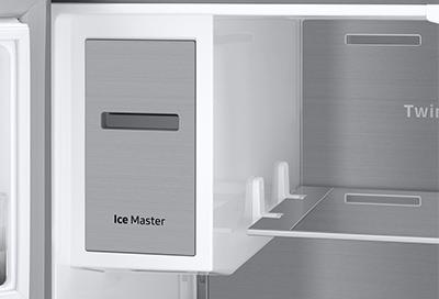 Ice maker in a Samsung refrigerator