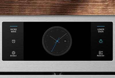 Icon displayed on Oven