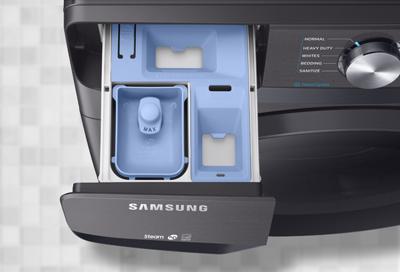 Dispenser drawer in Samsung washing machine
