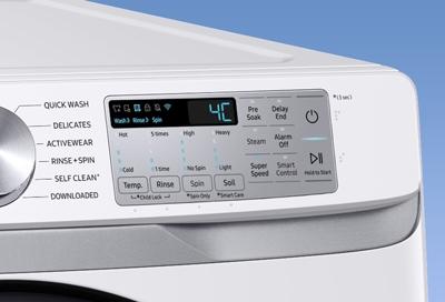 WSH How to reset Samsung washing machine