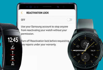 General Information about the Reactivation Lock on Your Watch