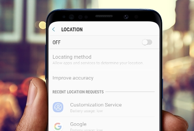 Galaxy phone's GPS signal is lost
