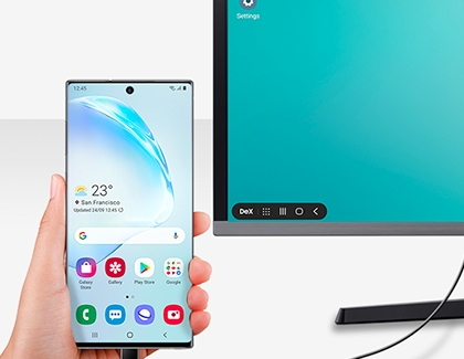 Using usb to connect Note 10 to external monitor