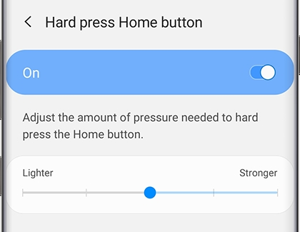 Adjust the Home button settings on your phone