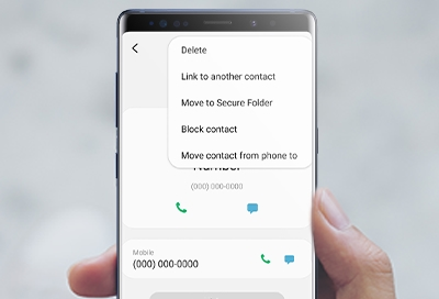 Block and unblock a contact or number on your phone