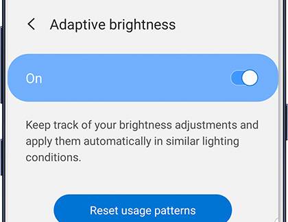 Adaptive Brightness on phone