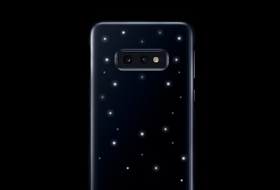 Samsung phone with LED cover