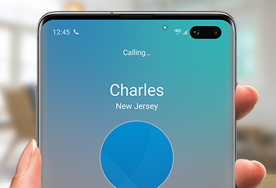 Blinking White Light During Calls on Galaxy S10