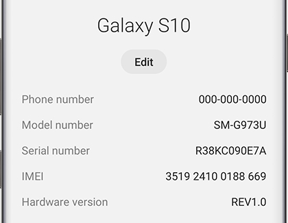 Find your phone and tablet's IMEI, model number, or serial