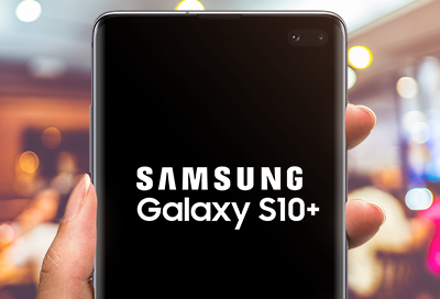 Samsung phone start up display