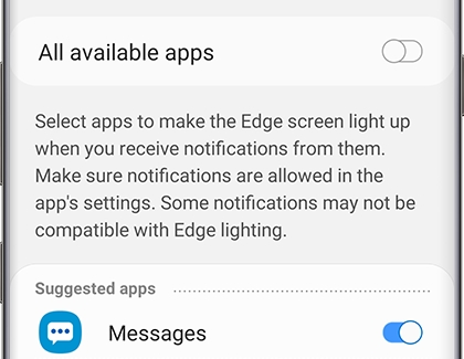 Use Edge lighting on your Galaxy phone