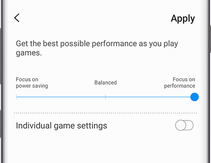 Set up Samsung Game Launcher and use the gaming options on