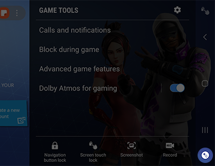 Set up Samsung Game Launcher and use the gaming options on your