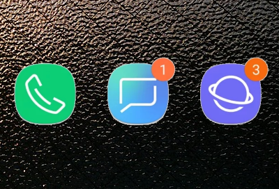 Icon Badges are not Appearing
