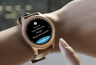 Bixby Cannot Find a Network Connection on the Watch