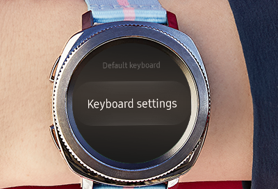 Keyboard Not Responding or Text Appears Incorrectly on Your Watch