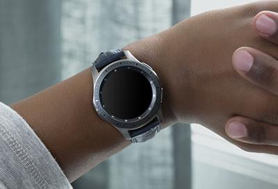 Galaxy Watch black display